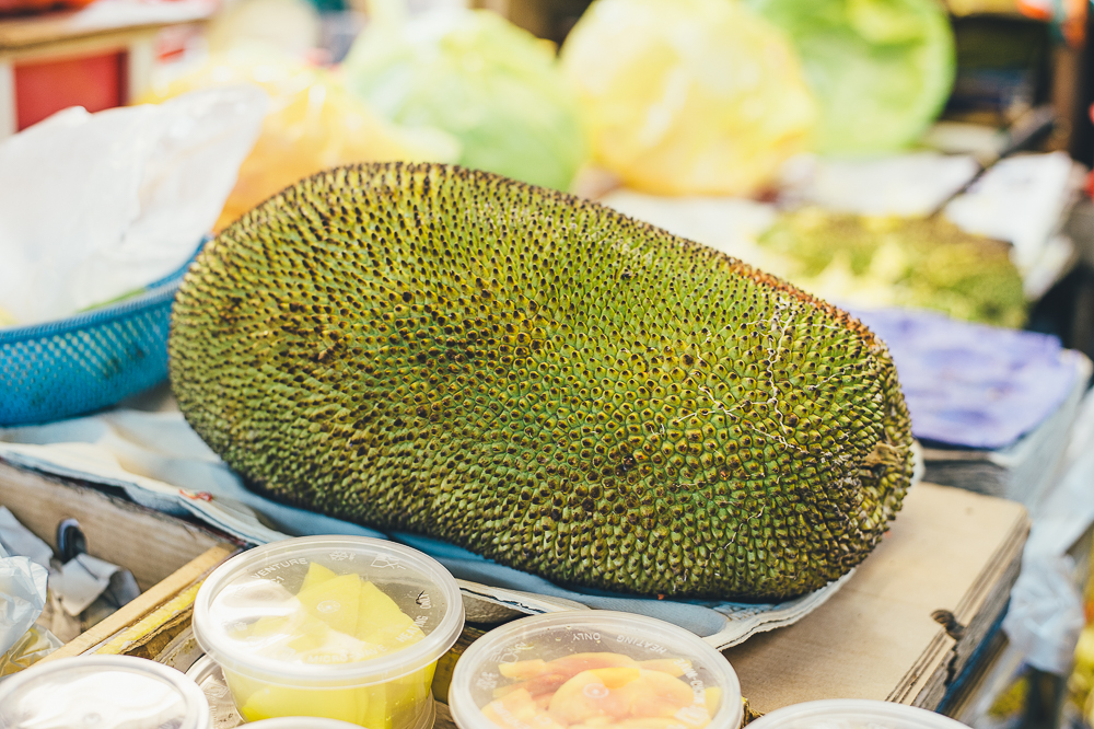 Jackfruit in a Hawker Centre, Singapore