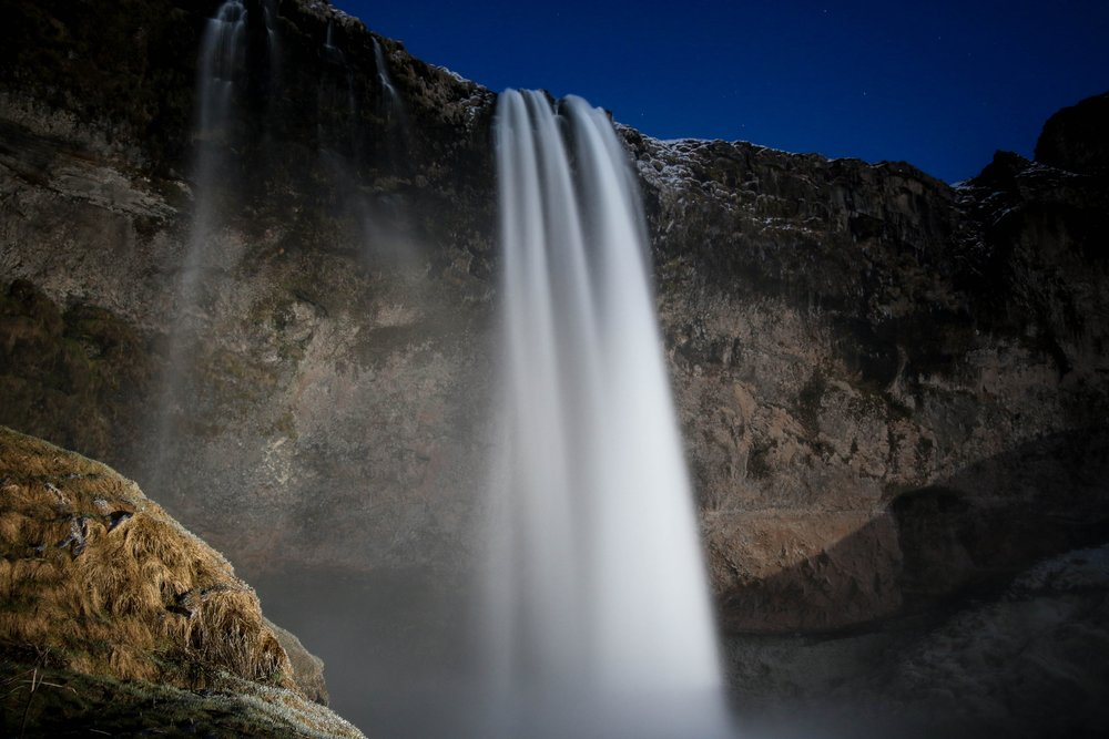 Seljalandsfoss waterfall in Iceland - Photo by Jeremy Bishop via Unsplash