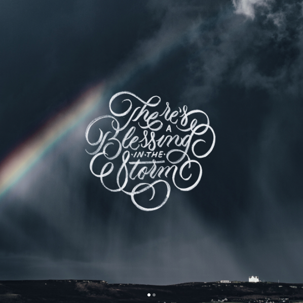 Hand lettering by Jamar Cave