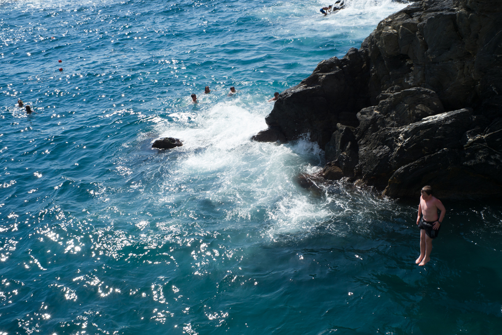 High Rock Diving - Manarola