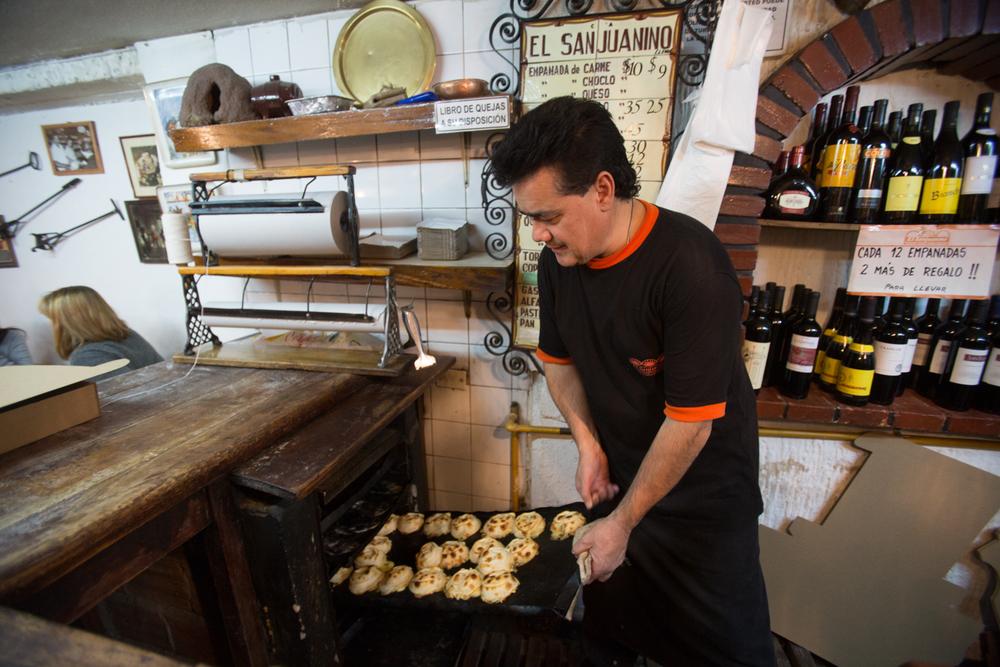 Empanadas at El Sanjuanino - Buenos Aires