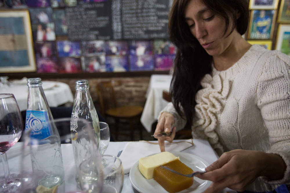 Membrillo &Cremoso(typical dessert)