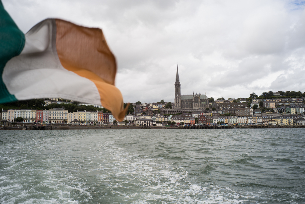 Cobh, on the Southern coast