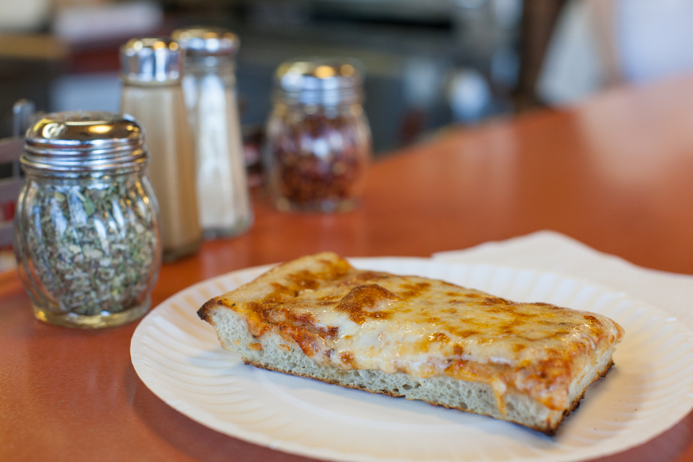 The Sicilian slice at John's Pizza in Elmhurst is perhaps the standout offering here (though the regular slice is good too :-).