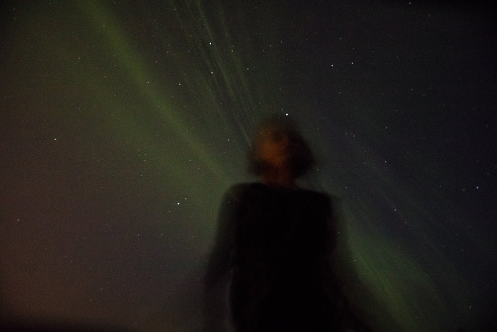 Northern lights in a rare August appearance