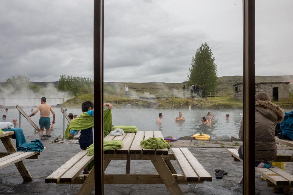 The Secret Lagoon Hot Spring, in Flúðir