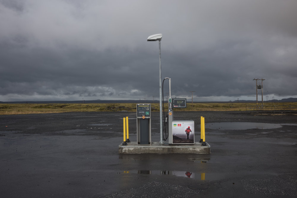 Petrol station on Route 1