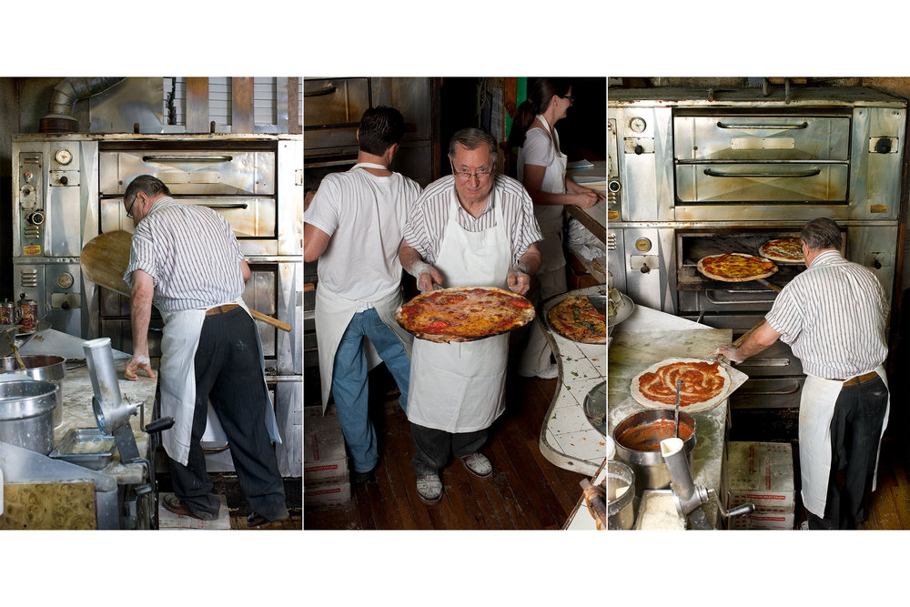 Domenick De Marco is perhaps New York's most famous pizza guy - and for good reason: he takes standard New York pizza (both square and round), and elevates it well beyond that of the average joint.