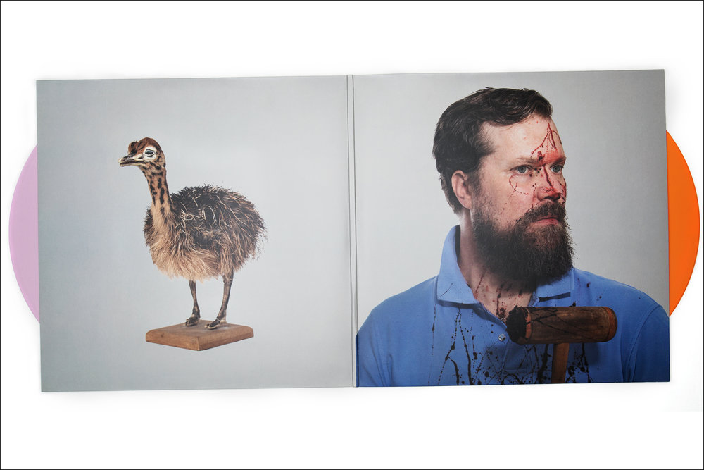 "John Grant ""Grey Tickles, Black Pressure"" album materials"