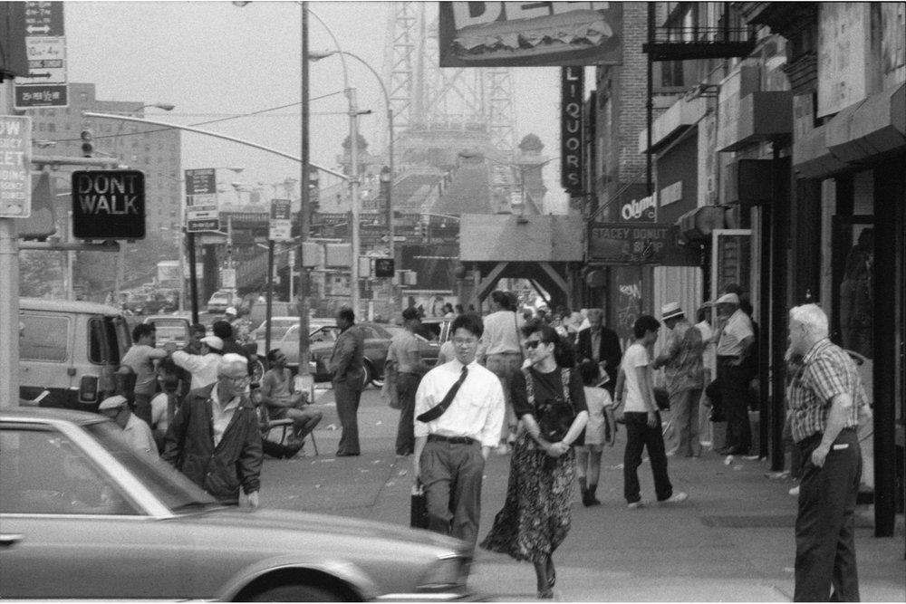 Delancey Street, 1990