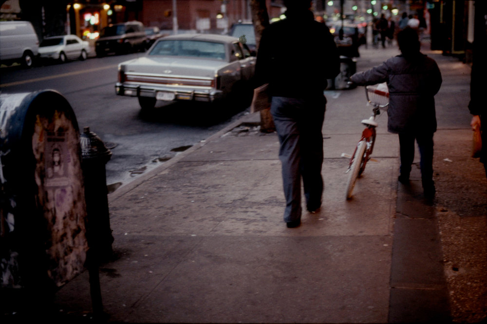 Probably East Village, c 1989