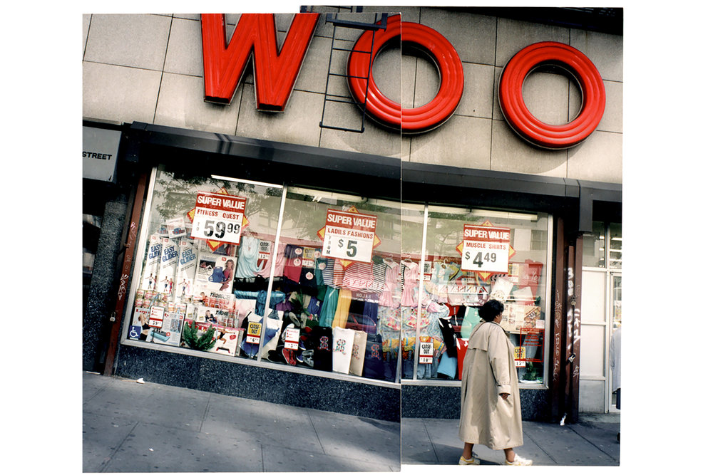 Woolworths on 14th Street, c 1992