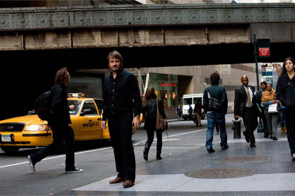 Piers Fawkes near Grand Central Station