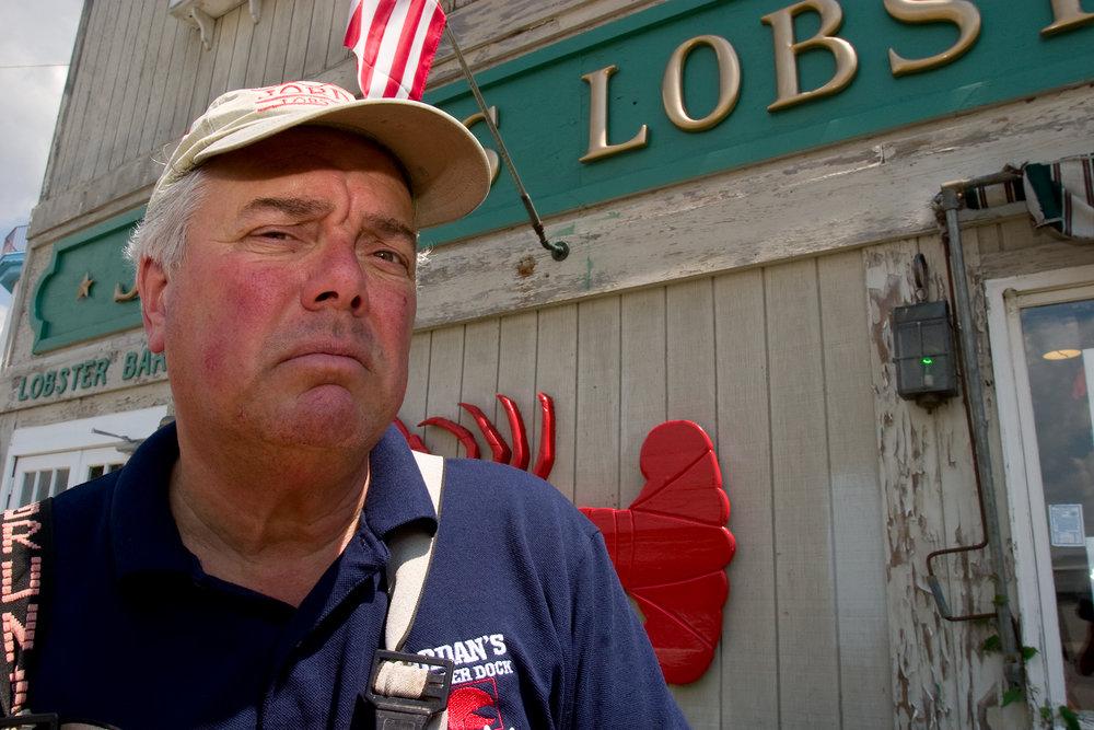 The Owner of Jordan's Lobster Dock in Sheepshead Bay, Brooklyn