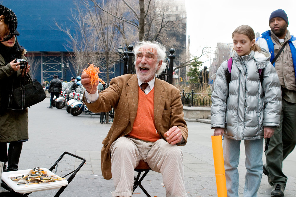 Man Selling Carrot Peeler