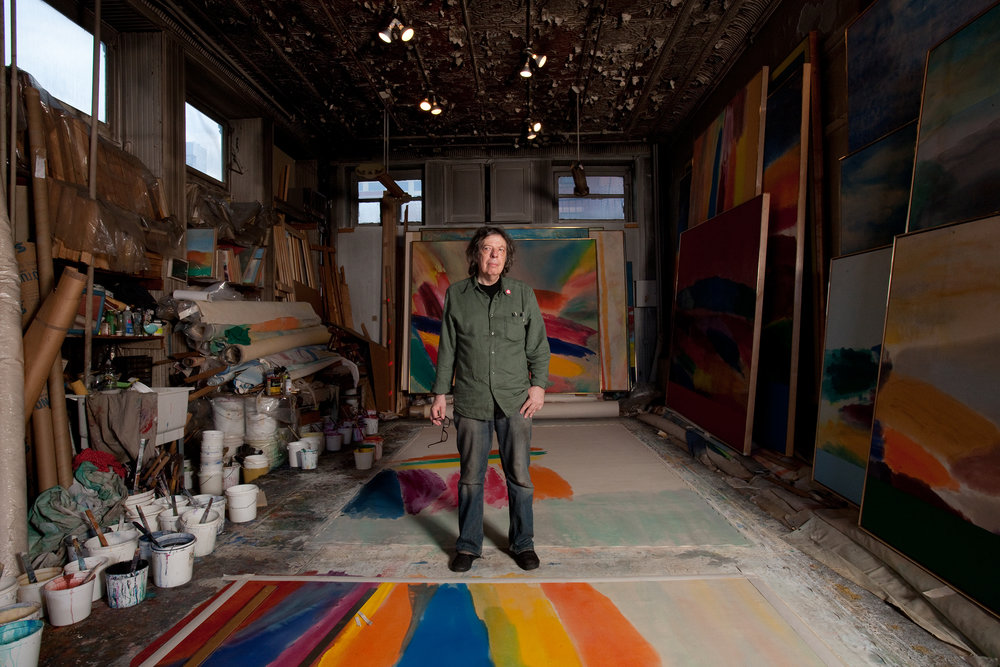 Painter Ronnie Landfield