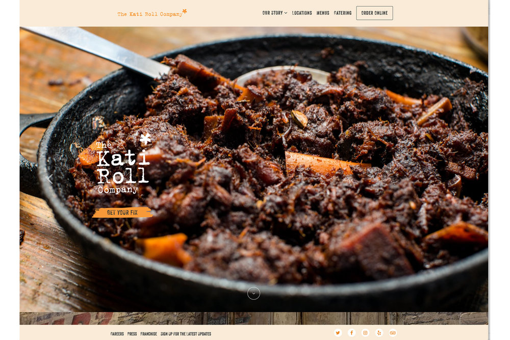 Michael Berman Food and Restaurant Photography - For Kati Roll Company Restaurants
