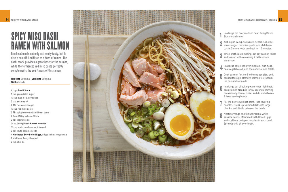 Ramen Noodle Cookbook Photography by Photographer Michael Berman