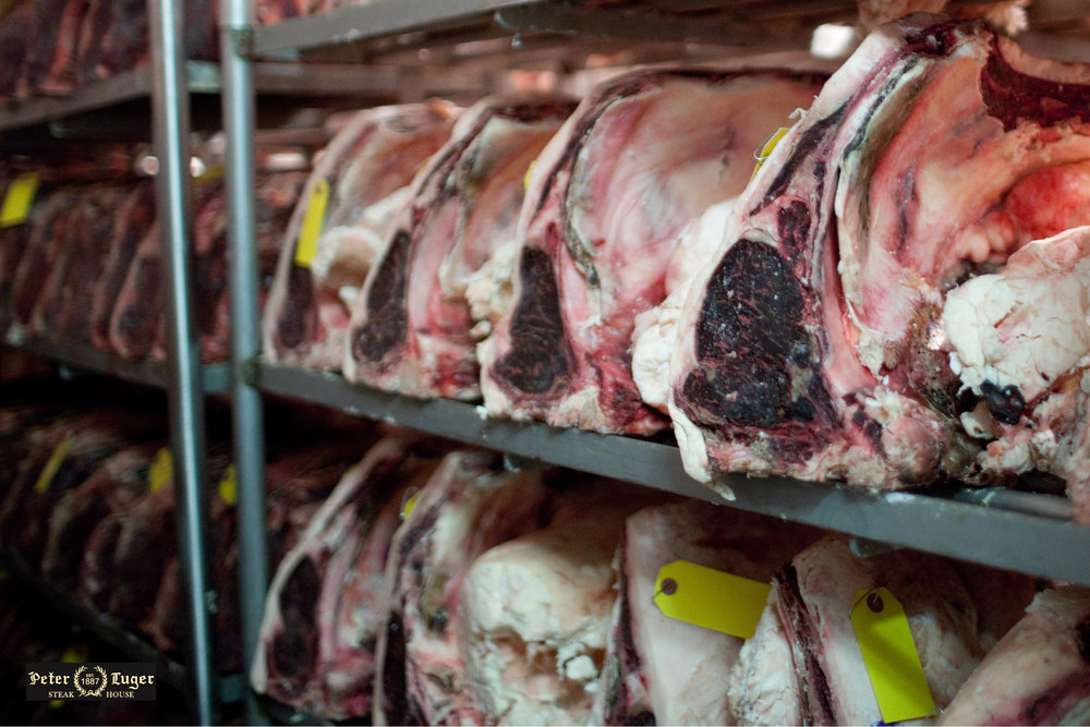 Peter Luger Steakhouse - Dry Aging Room
