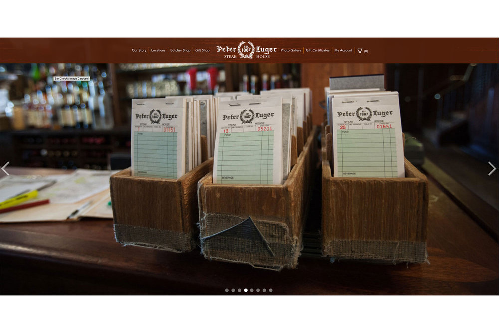 Peter Luger Steakhouse - Order Ticket Pads