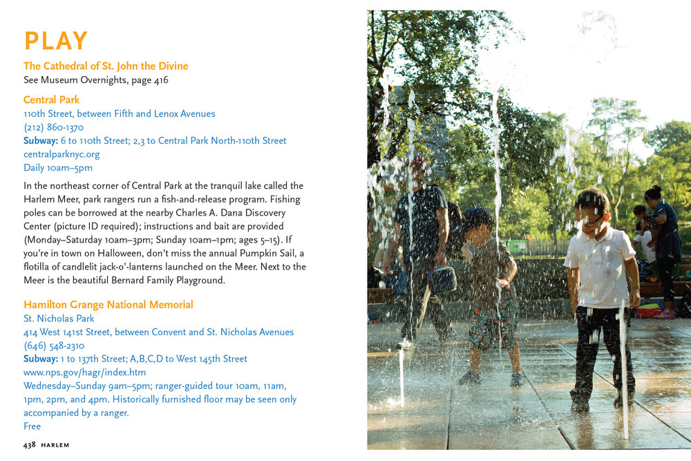 New York City with Children Guidebook Co-written and  Photographed by Photographer Michael Berman