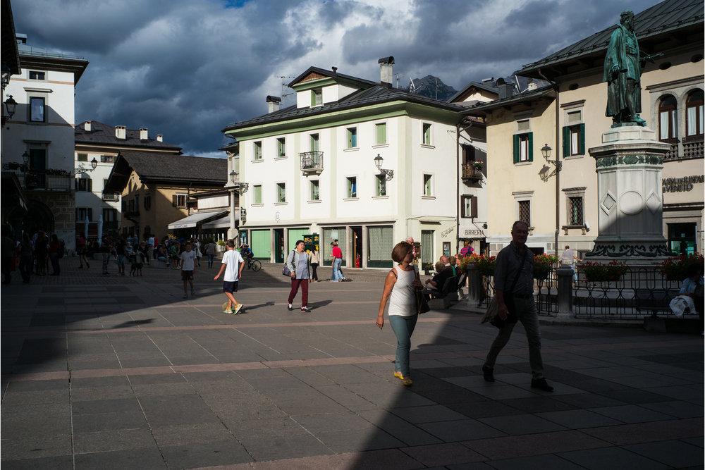 Piazza Tiziano, Pieve di Cadore