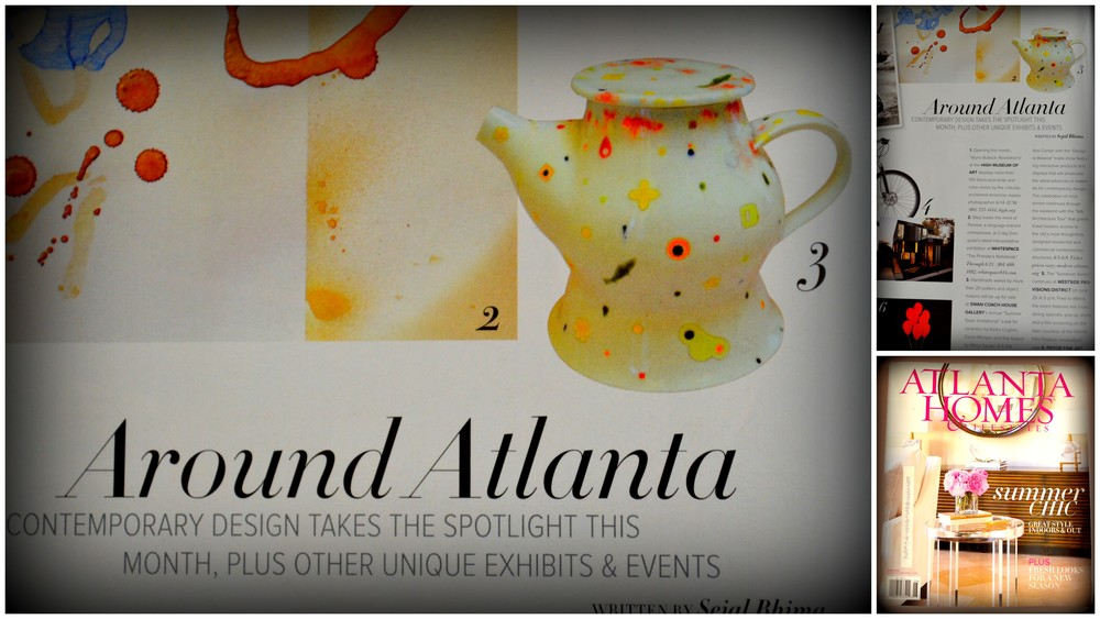 June 2014 issue of Atlanta Homes and Lifestyles