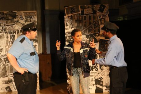 Bobby Henneberg as Flip, Mari Andrea as Mrai, and Terrance Fleming as Dece
