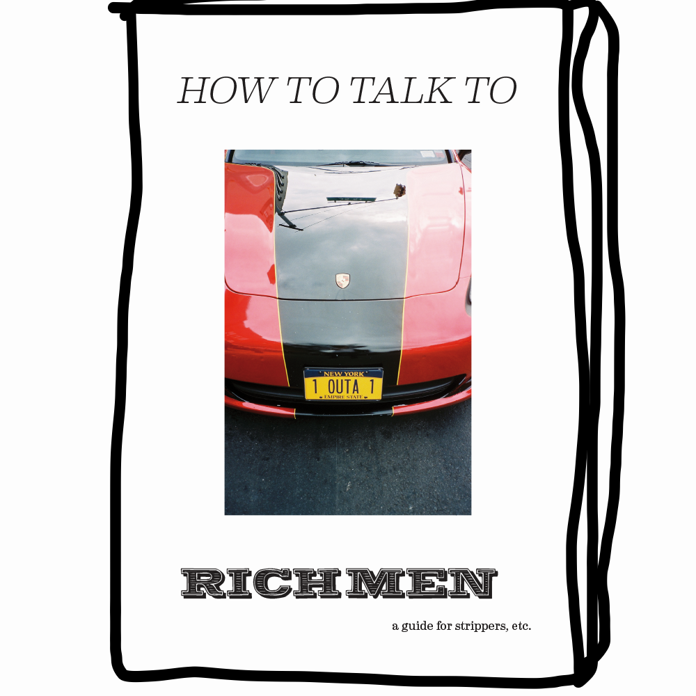 How to Talk to Rich Men, $15, survivetheclub.com
