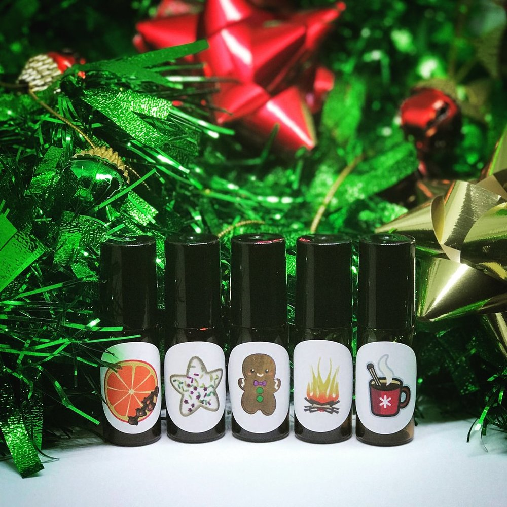 Ho-liday Classics mini roll-on set, $20 marked down from $50 socofragrance.com