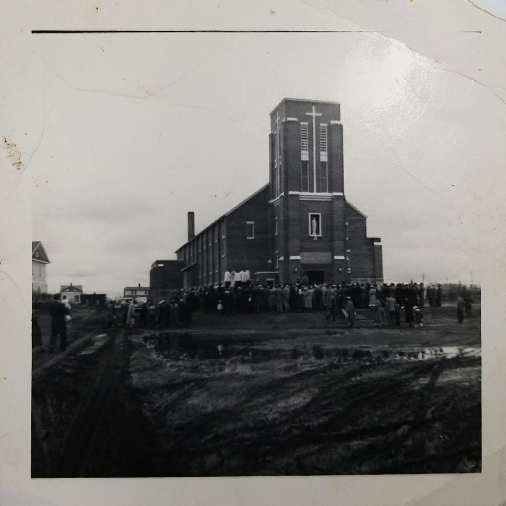 Blessing of Sacred Heart of Jesus  Church, Watson  May 31, 1953  Photo Submitted by Theresa Graf