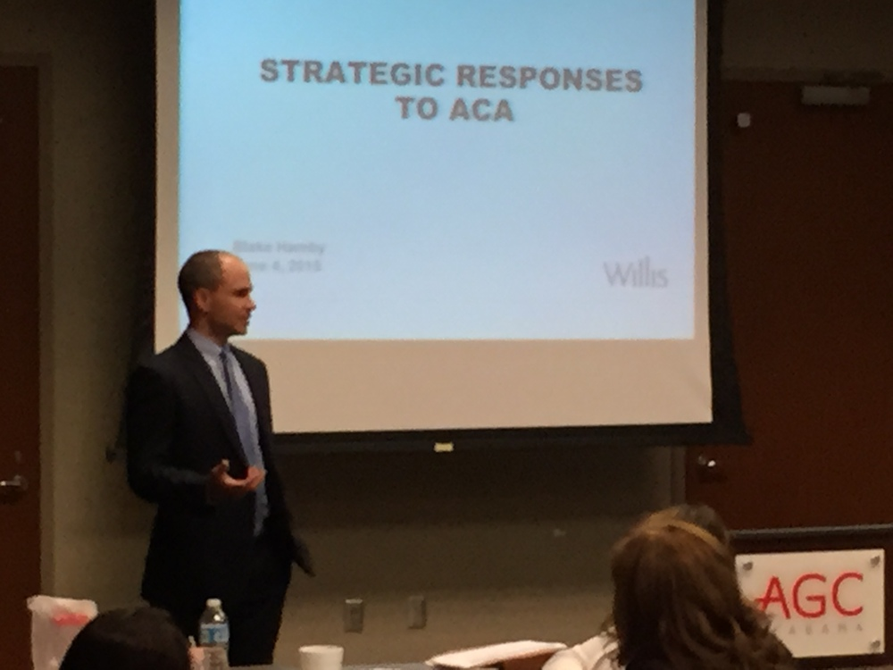Blake Hamby discusses strategies employees may consider while complying with the Affordable Care Act.