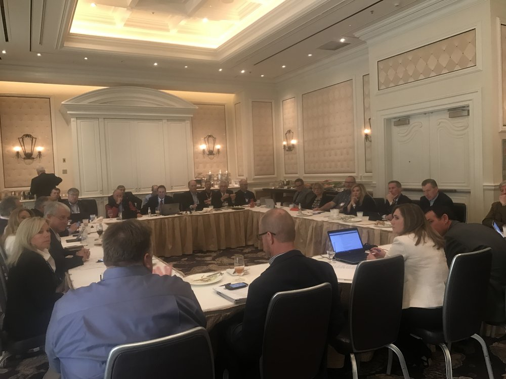 Executive Leadership Council meeting