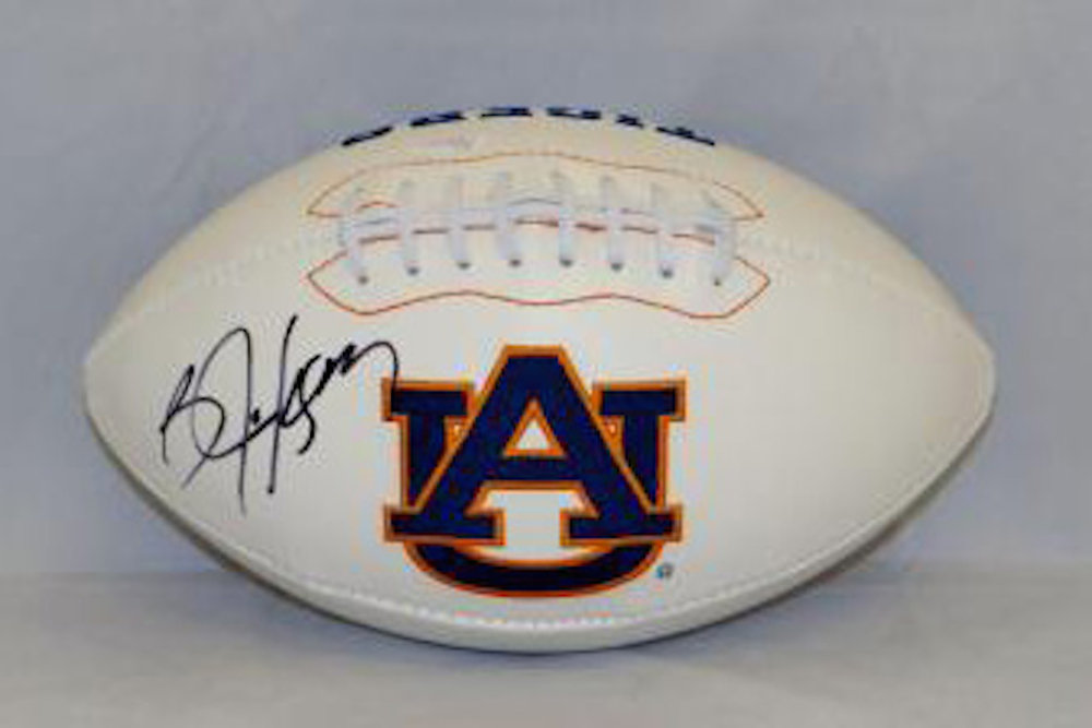 Signed Auburn Football