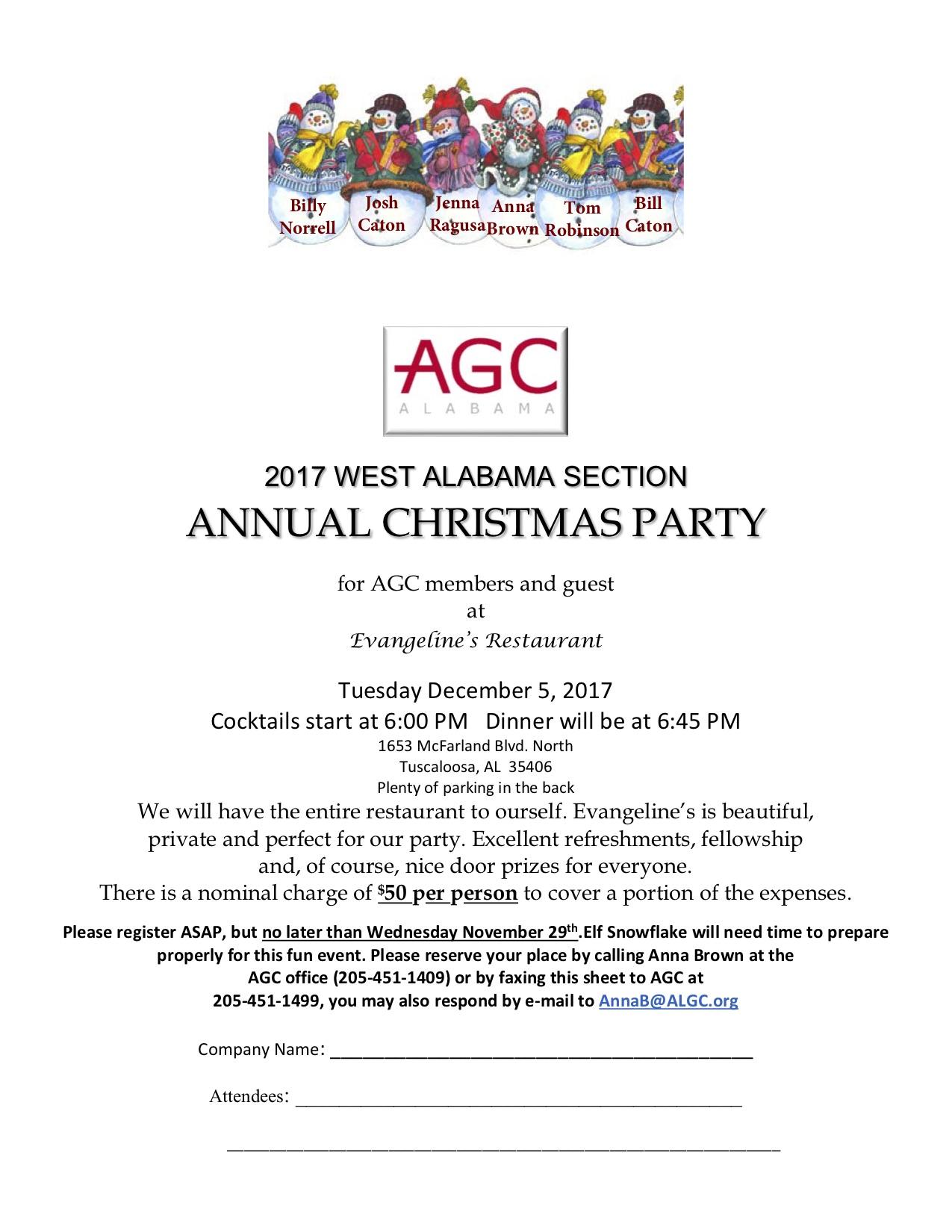 Events Alabama AGC