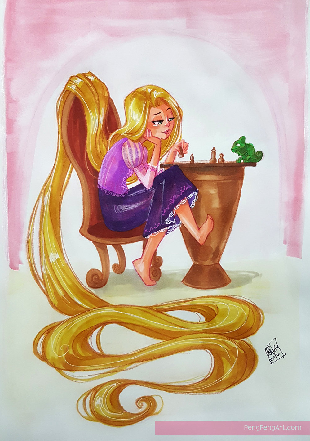 tangled commission.jpg