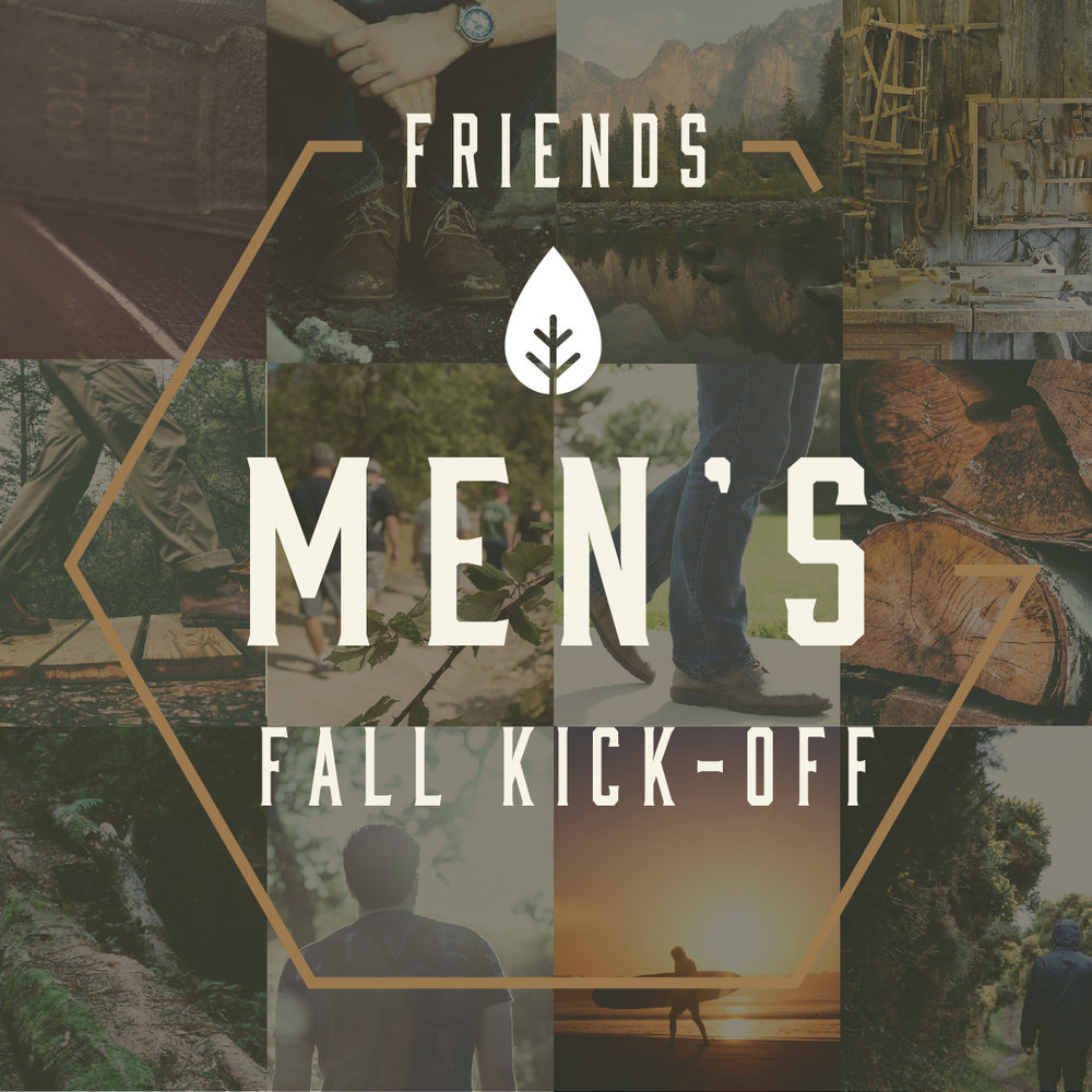 Men's Fall Kick-Off