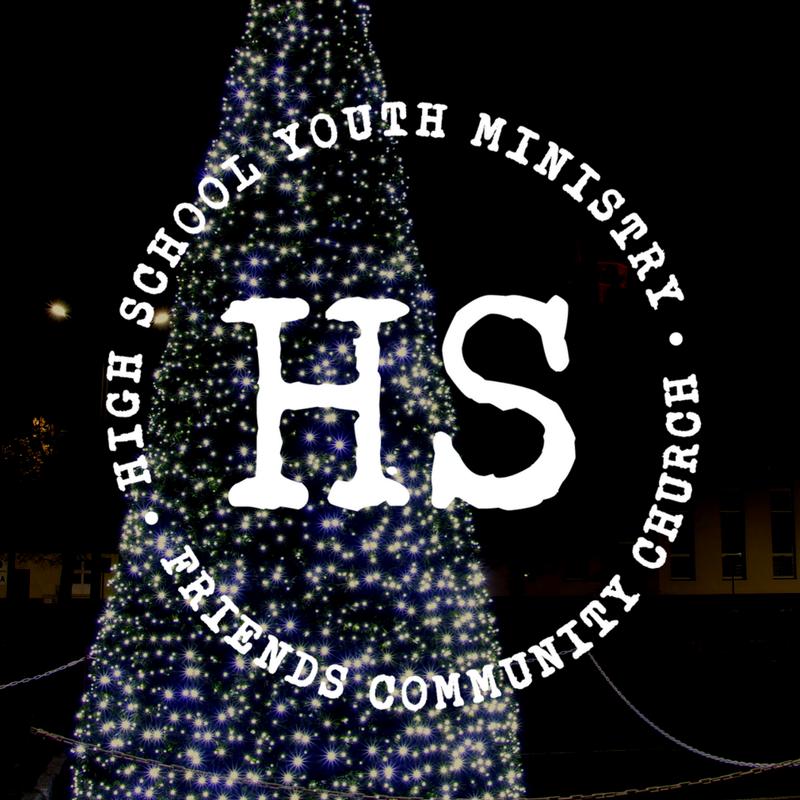 HS Starbucks and Christmas Lights
