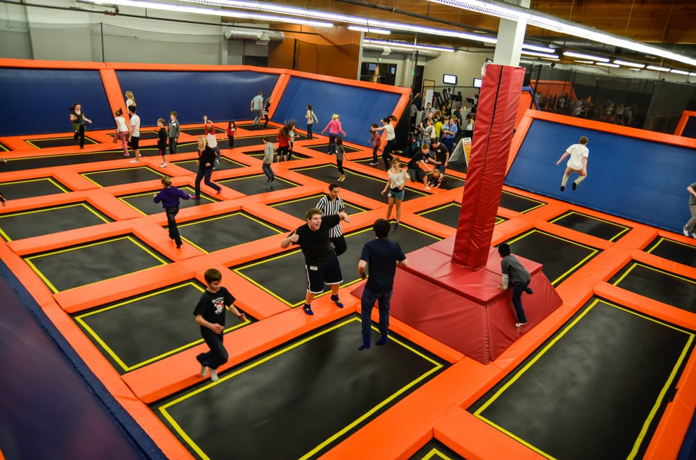 BigAirTrampoline Park - Middle School Ministry