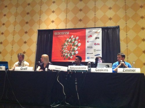 The New Sharing Economy Panel at the 2011 SXSWi