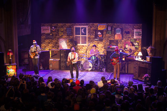 Dr. Dog performed live at the Neptune Theatre in Seattle, WA on February 14, 2012. Photo by Laura Musselman.