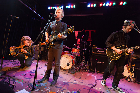 Nada Surf played the Tractor Tavern in Seattle, WA on February 2, 2012. Photo by Laura Musselman.