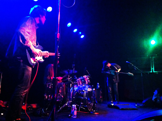 Unknown Mortal Orchestra at the Crocodile in Seattle, WA on November 9, 2011.