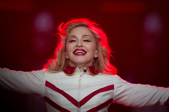Madonna played at Key Arena in Seattle, WA on October 2, 2012. Photography by Laura Musselman Duffy.