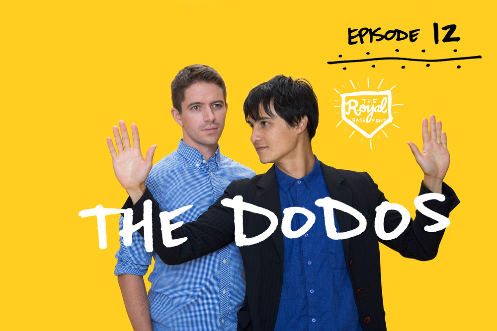 Logan Kroeber and Meric Long of The Dodos