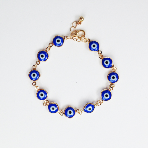 sapphire p gold eye judith ripka bracelet evil silver photo sterling