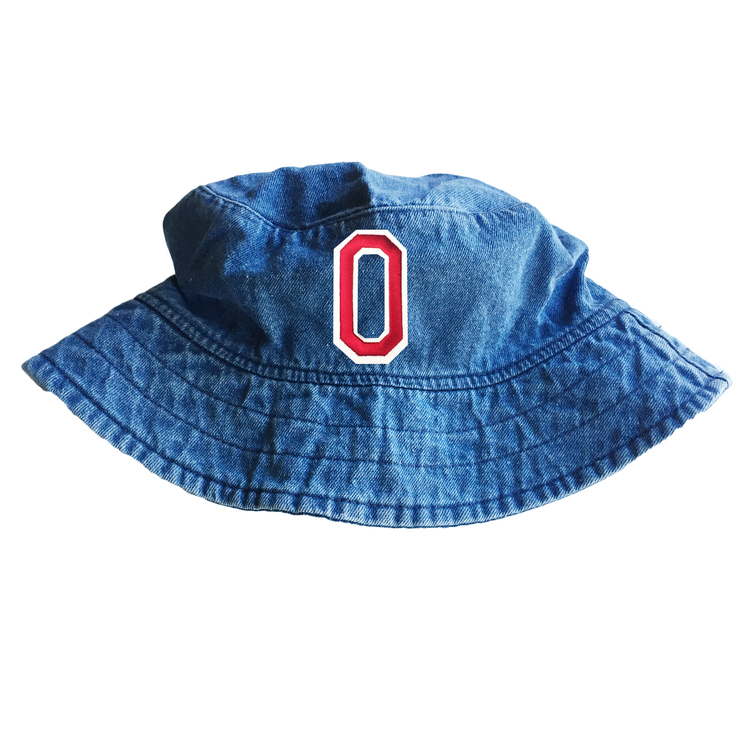 5947c890a7a Denim Bucket Hat With Initial Patch — JewelErry