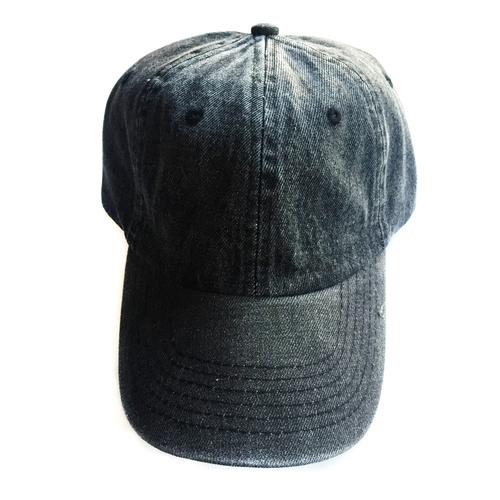 f2895701e58 Black Denim Baseball Hat With Initial Patch. 22.00. Black Denim HAt.jpg