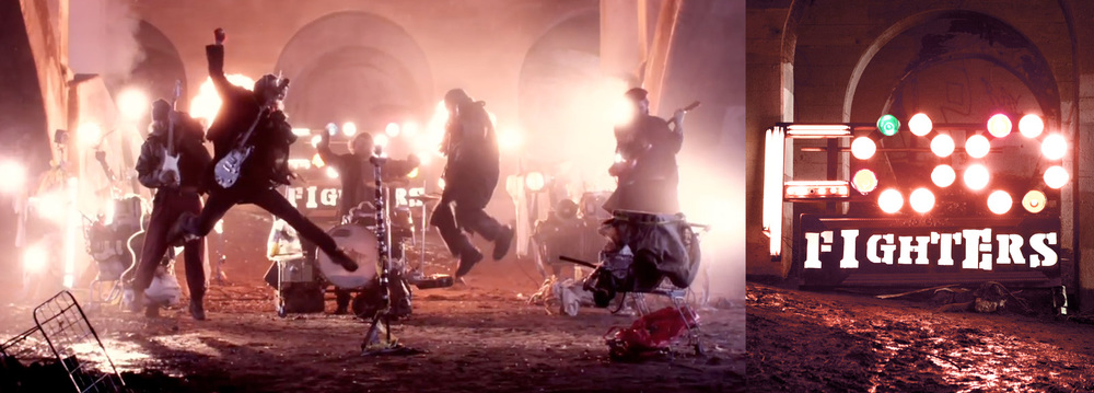 Foo Fighters  - Back & Fourth Music Video - Dir.  Justin Stagg  s  - Prod. Shane Nelson &  Ben Katz                                                                                                                              (Photos:  Joe Lemke )