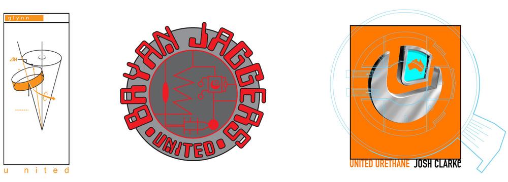 Pro rider T-Shirt Designs. Justin Braem & Steve Saiz